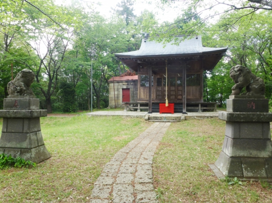 明保地区 羽黒山神社